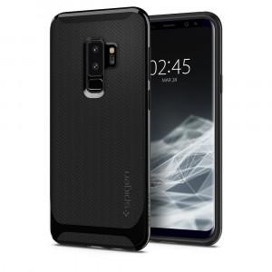 Skal Spigen Galaxy S9+ Case Neo Hybrid Shiny Black
