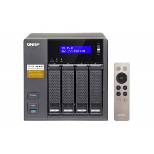 QNAP TS-453A NAS Torn Nätverksansluten (Ethernet) Svart