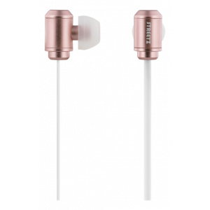 Headset - In-Ear m mikrofon svarsknapp Dual Drivar