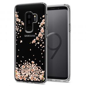 Skal Spigen Galaxy S9+ Case Liquid Crystal Blossom Nature