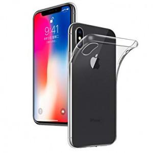 Skal iPhone X Slim Transparent