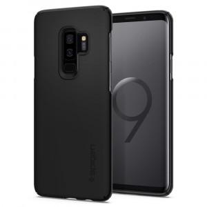 Skal Spigen Galaxy S9+ Case Thin Fit Black