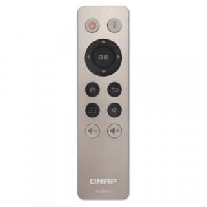 QNAP RM-IR002 Tryckknappar Grå fjärrkontroller