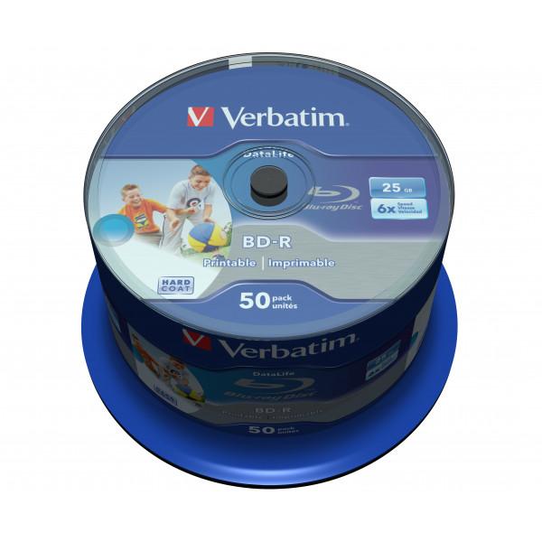 Verbatim Blu-Ray 25GB BD-R 6X (50-pack)