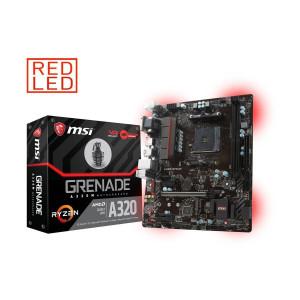 Moderkort -AMD AM4 mATX MSI A320M GRENADE A320M GRENADE