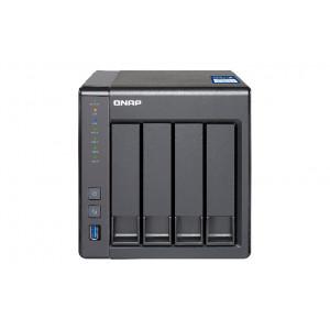 QNAP TS-431X NAS Torn Nätverksansluten (Ethernet) Svart