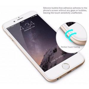 glasskydd Skärmskydd iPhone 6/6S+ Härdat glas med svartram net2world