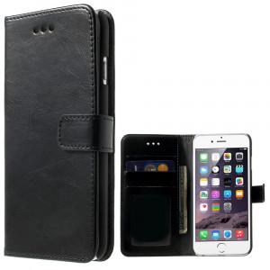 Fodral - iPhone 7/8 Plus - Fodral + Skal 2i1 svart