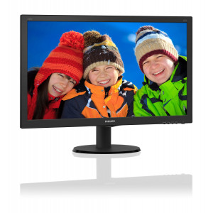 "Datorskärm - 24"" LED Philips 240V5QDSB IPS"