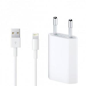 Laddare USB Adapter+Lightning kabel Apple Original