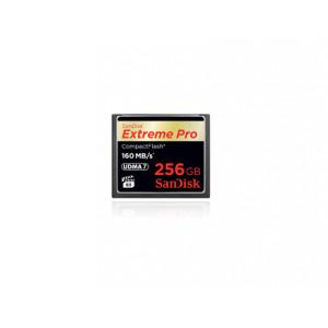 Sandisk Extreme PRO, 256GB flashminne CompactFlash