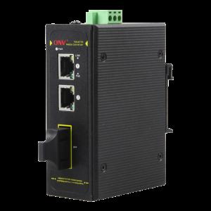 PoE-Switch Industriell 3-port, 30W, 2xRJ45, 1xSFP, 10/100Mbps, IP40