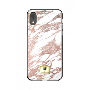 RF by Richmond & Finch Rose Gold Marble, iPhone XR case