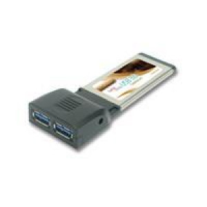 Kontrollkort ExpressCard 34mm USB 3.0 2-port.
