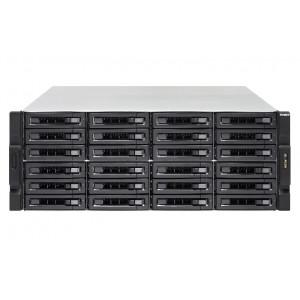 NAS QNAP TVS-EC2480U-SAS-RP R2 NAS Rack (4U) Nätverksansluten (Ethernet) Svart, Grå