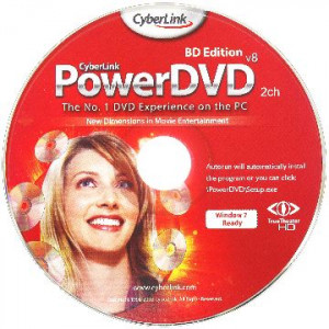 CyberLink PowerDVD 8 OEM CD