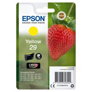 Epson Singlepack Yellow 29 Claria Home Ink 3.2ml Gul 180sidor bläckpatroner