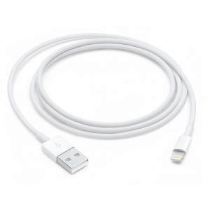 Apple MD818ZM/A 1m USB A Lightning Vit mobiltelefonkablar