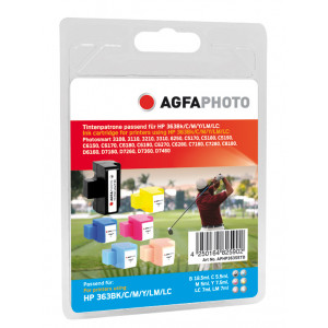 HP 363  MultiPack C/M/Y/BK/LC/LM (AgfaPhoto) 6st