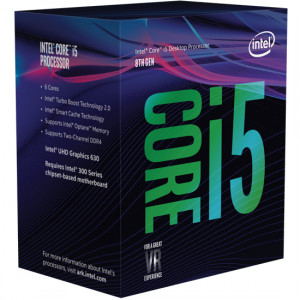 Processor - Intel S1151 i5-8400 2.8/4.0GHz BOX