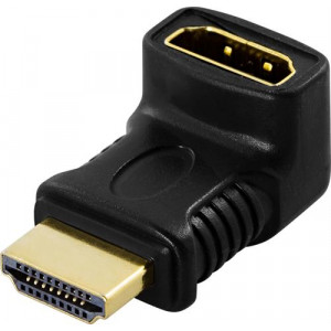 Deltaco HDMI-14B HDMI 19-pin HDMI 19-pin Svart kabeladaptrar