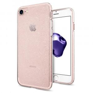 Skal Spigen iPhone 8/7 Case Liquid Crystal Glitter Rose