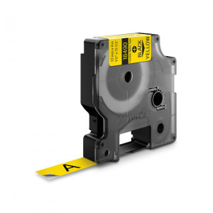 DYMO 12mm RHINO Flexible Nylon Tape D1 etikett-tejp
