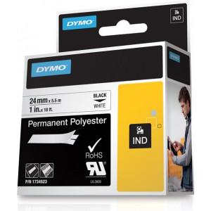 DYMO 24mm RHINO Permanent Polyester D1 etikett-tejp
