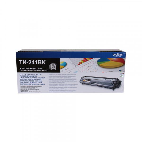 Brother TN-241BK Lasertoner 2500sidor Svart Tonerkassett