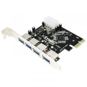 Kontrollkort PCI-E USB 3.0 4-port (LogiLink)