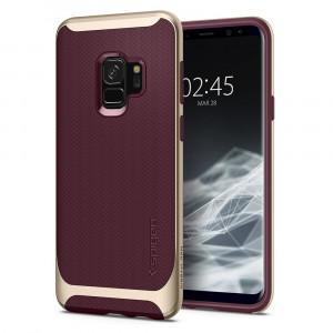 Skal Spigen Galaxy S9 Case Neo Hybrid Burgundy