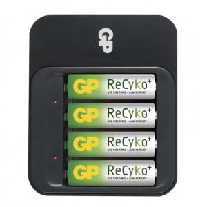 GP ReCyko+ 550 Fast Charger + 4xAA