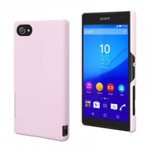 Skal - Sony Xperia Z5 Compact - Muvit Rosa