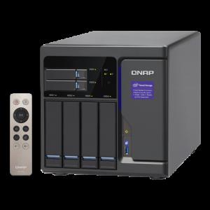 QNAP TVS-682 Nätverksansluten (Ethernet) Torn Svart NAS