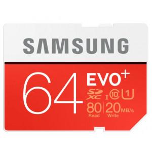 MicroSD Samsung MB-SC64D 64GB SDXC UHS Class 10 flashminne