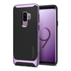 Skal Spigen Galaxy S9+ Case Neo Hybrid Lilac Purple