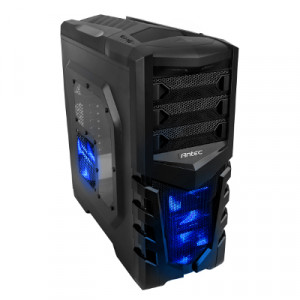 Chassi Antec GX505 Window Blue Miditower Svart, blå