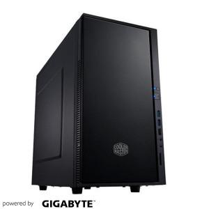 Silencio I36-73 - Intel i3-6100 8GB SSD250 GT730