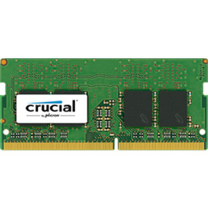Crucial DDR4 8GB SO DIMM 260-pin 2400 MHz / PC4-19200 CL17 1.2 V ej buffrad icke ECC net2world