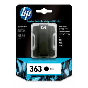 HP 363 Black Ink Cartridge with Vivera I