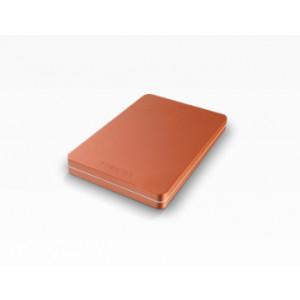 Toshiba Canvio Alu 1 TB 1000GB Röd externa hårddiskar