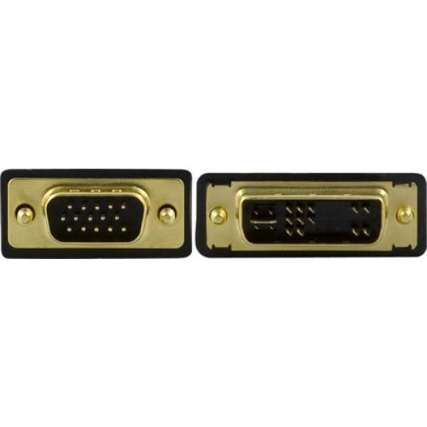 Kabel DVI-A - VGA (ha-ha) (5m).