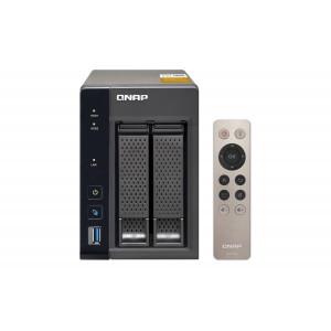 QNAP TS-253A NAS Torn Nätverksansluten (Ethernet) Svart