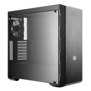 Cooler Master MasterBox MB600L datorväskor Midi-Tower Svart, Metallisk