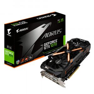 Grafikkort Gigabyte AORUS GeForce GTX 1070 8G GeForce GTX 1070 8GB GDDR5