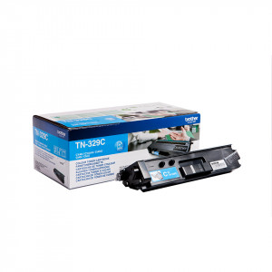 Brother TN-329C Laser toner 6000sidor Cyan lasertoners & patroner