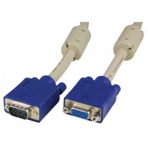 VGA kabel HD15 ha-ho (10m) Förlängning