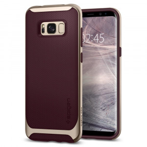 Spigen Galaxy S8 Neo Hybrid Case Burgundy 565CS21597