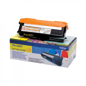 Brother Toner TN-320Y 1.500sid Yellow (Original)