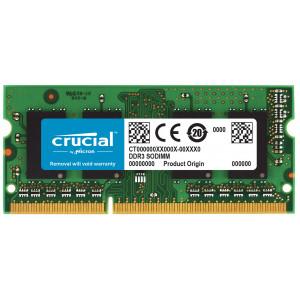 SODIMM DDR3-1333 Crucial 8GB DDR3-1333 SO-DIMM CL9 8GB DDR3 1333MHz RAM-minnen